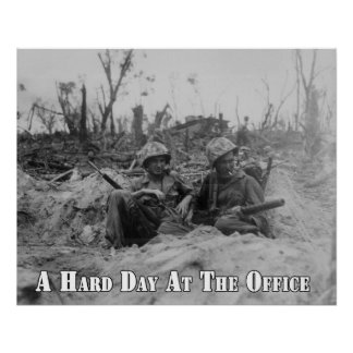 A Hard Day at the Office Poster