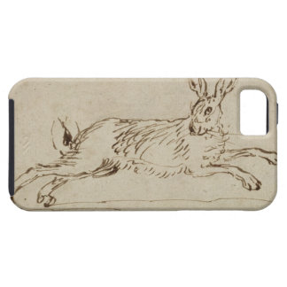 A Hare Running, With Ears Pricked (pen & ink on pa Case For The iPhone 5