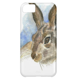 A Hare, watercolor pencil iPhone 5C Case