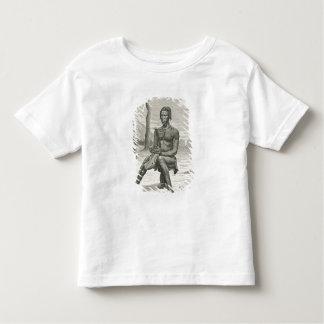 A Harp Player of the Azandeh or Nyam-Nyams Toddler T-Shirt