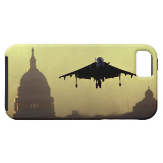 A Harrier jet landing on the Mall at dawn with iPhone 5 Cover
