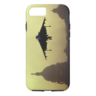 A Harrier jet landing on the Mall at dawn with iPhone 7 Case