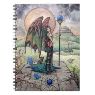 A Harvest Moon Fairy Gothic Fantasy Art Notebook