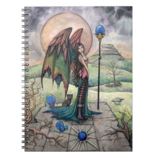 A Harvest Moon Fairy Gothic Fantasy Art Notebooks