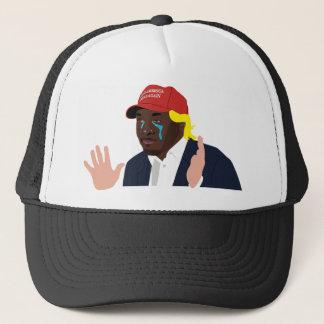 A hat. trucker hat