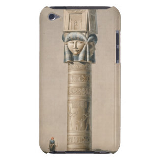 A Hathor headed pillar at Dendarah, illustration ' Barely There iPod Cases
