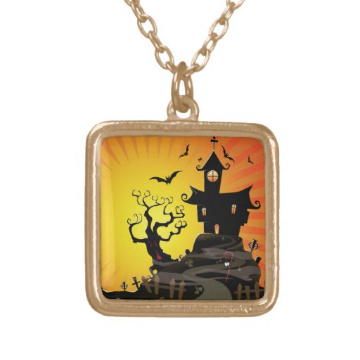A Haunted House Custom Necklace