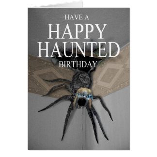 A Haunted Liverpool Birthday Card