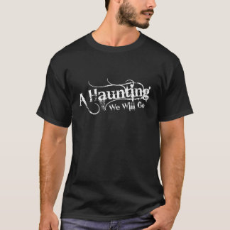 A Haunting We Will Go LLC Logo Mens Shirt Logo