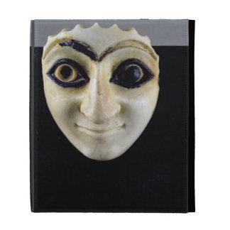A Head of a Figure from The Temple of Nini-zaza, M iPad Folio Cases