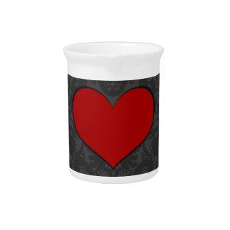 A Heart II Beverage Pitcher
