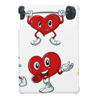 a heart iPad mini case