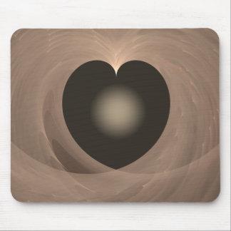 A Heart Light Mouse Mat