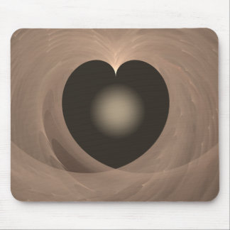 A Heart Light Mouse Pad