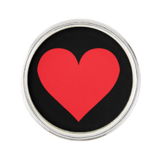 A Heart of Love and Affection Lapel Pin