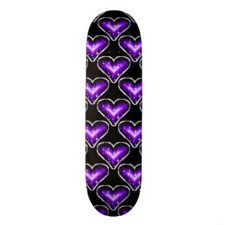 A Heart Pattern Skate Board Decks
