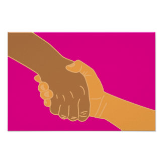 A Helping Hand Art Poster