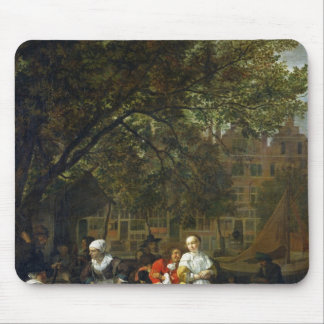 A Herb Market in Amsterdam Mouse Mat