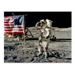 A Hero's Salute From Apollo 17 Post Cards