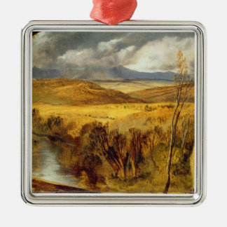 A Highland Landscape, c.1825-35 (oil on board) Christmas Ornament