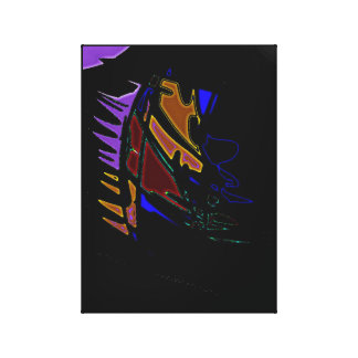 A Hole In The Wall - Contemporary Canvas Print