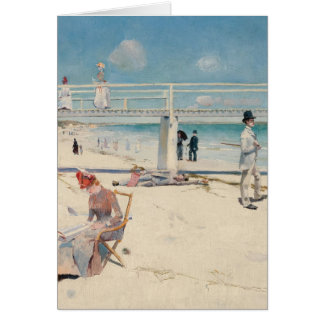 A Holiday at Mentone - Charles Conder Card