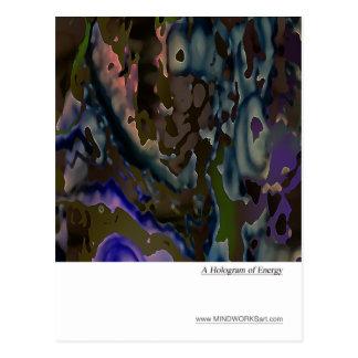 A Hologram of Energy Postcard