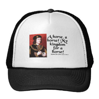 A Horse A Horse My Kingdom for a Horse Trucker Hat