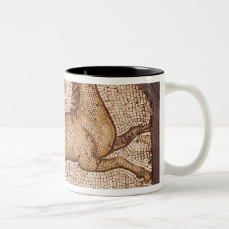 A Horse, detail from Orpheus Charming the Animals Two-Tone Coffee Mug