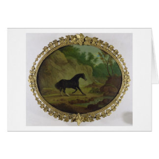 A Horse Frightened by a Snake, 1792 (oil on canvas Greeting Card