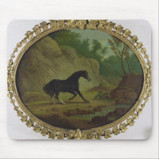 A Horse Frightened by a Snake, 1792 (oil on canvas Mouse Mat
