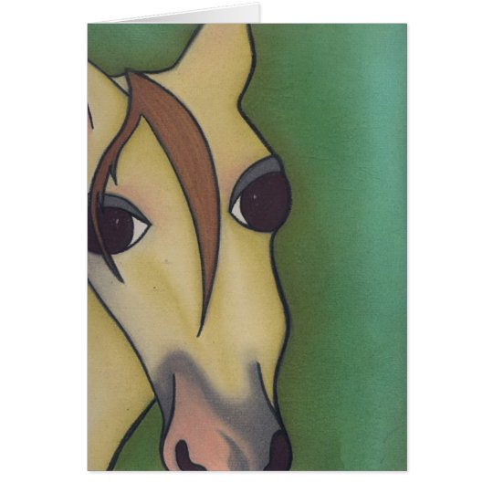 A Horse is a Horse Ofcourse  by Robyn Feeley Card