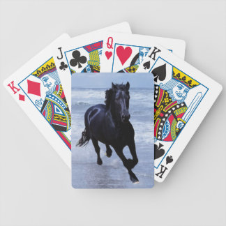 A horse wild and free poker deck