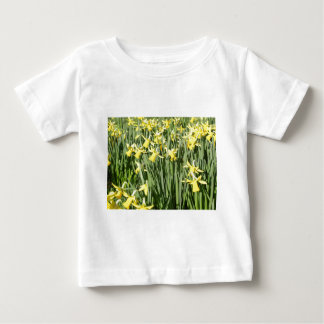 A host of golden daffodils baby T-Shirt