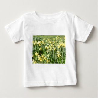 A host of golden daffodils in Lake District Baby T-Shirt
