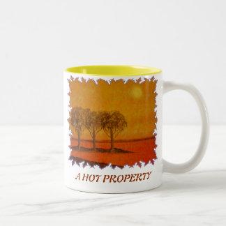 A hot property mugs