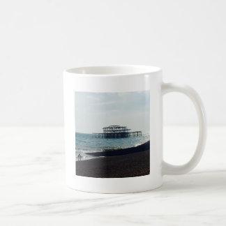 A Hot Summers Day - Brighton West Pier Coffee Mug