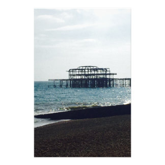 A Hot Summers Day - Brighton West Pier Customised Stationery
