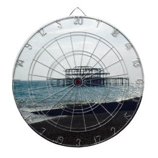 A Hot Summers Day - Brighton West Pier Dartboard