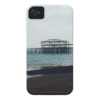 A Hot Summers Day - Brighton West Pier iPhone 4 Cases
