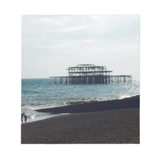 A Hot Summers Day - Brighton West Pier Notepad