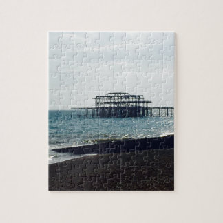 A Hot Summers Day - Brighton West Pier Puzzle