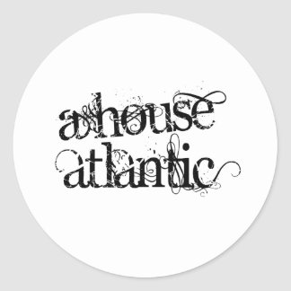 A House Atlantic Classic Round Sticker