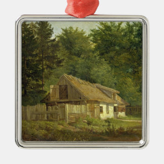A House in the Frederiksdal Forest near Christmas Ornament