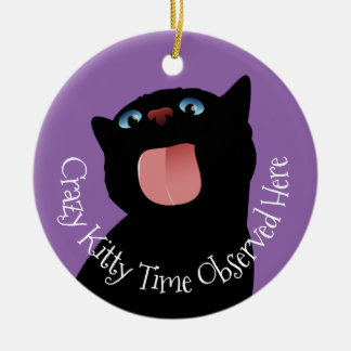 A House is not a Home without a Cat Christmas Ornament