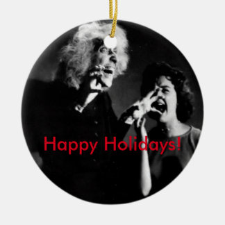 A House on Haunted Hill Christmas! Christmas Ornament