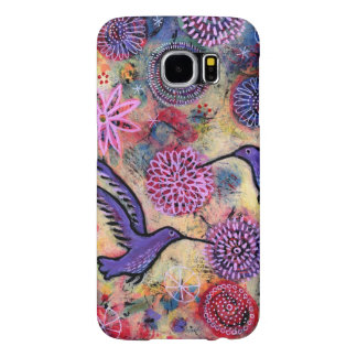 A Hummingbird Garden Samsung Galaxy S6 Cases