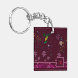 A Hummingbird Painter Key Ring