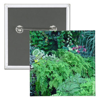 A Hundred Shades of Green-Green is Beautiful 15 Cm Square Badge