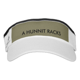 A HUNNIT RACKS VISOR